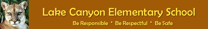 Lake Canyon Elementary School  Logo
